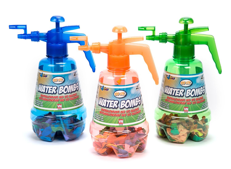 4 Kids Vandpumpe med 100 vandballoner