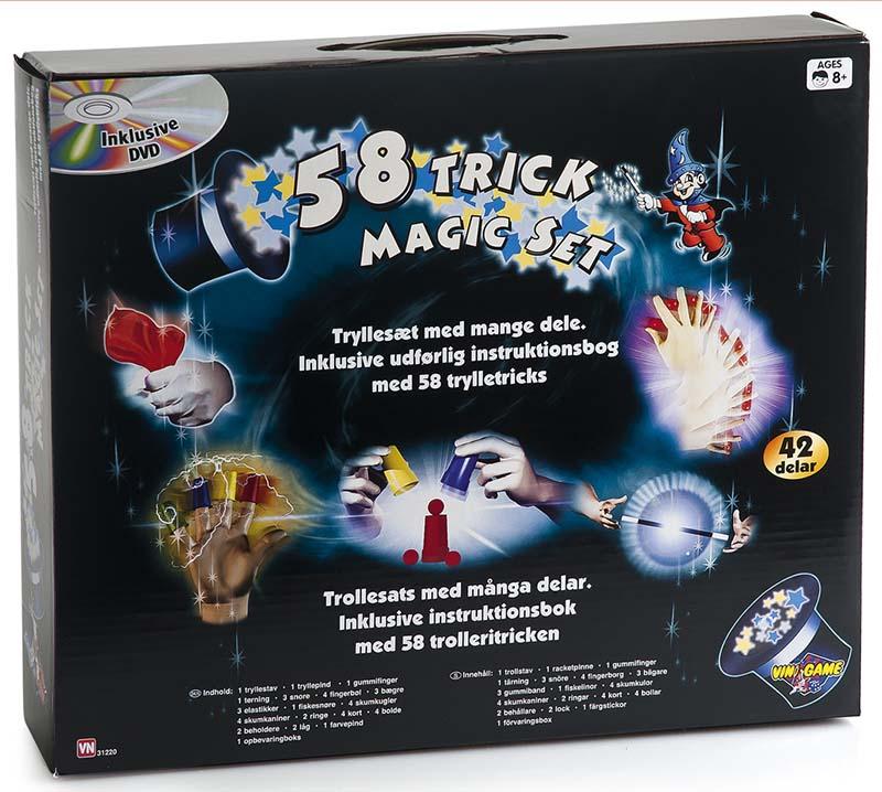 58 Trick Magic Set, Tryllesæt
